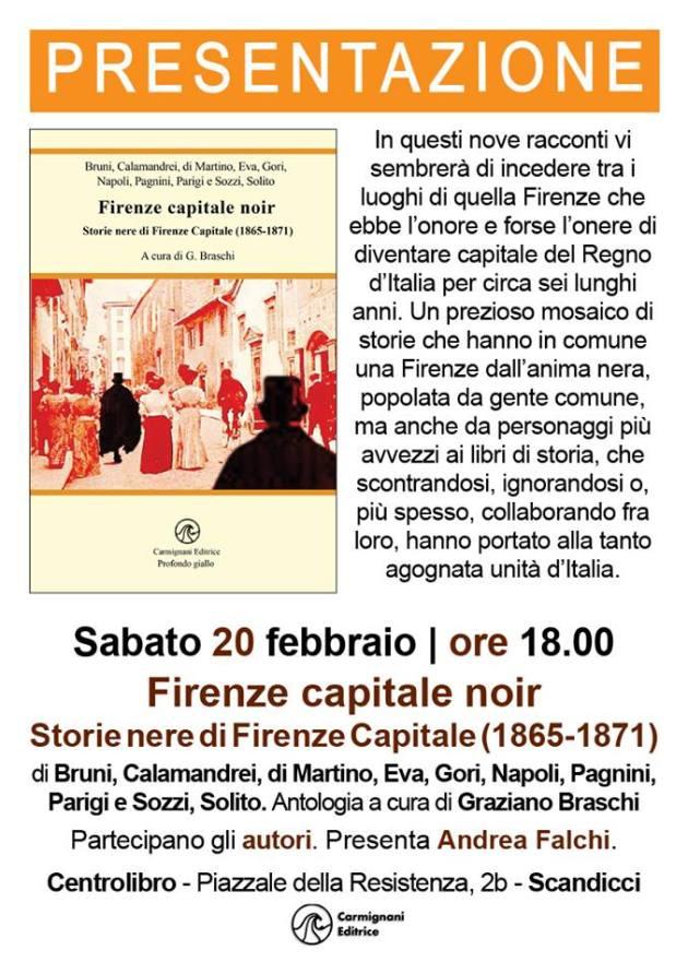 FirenzeCapitale NoirCentrolibro