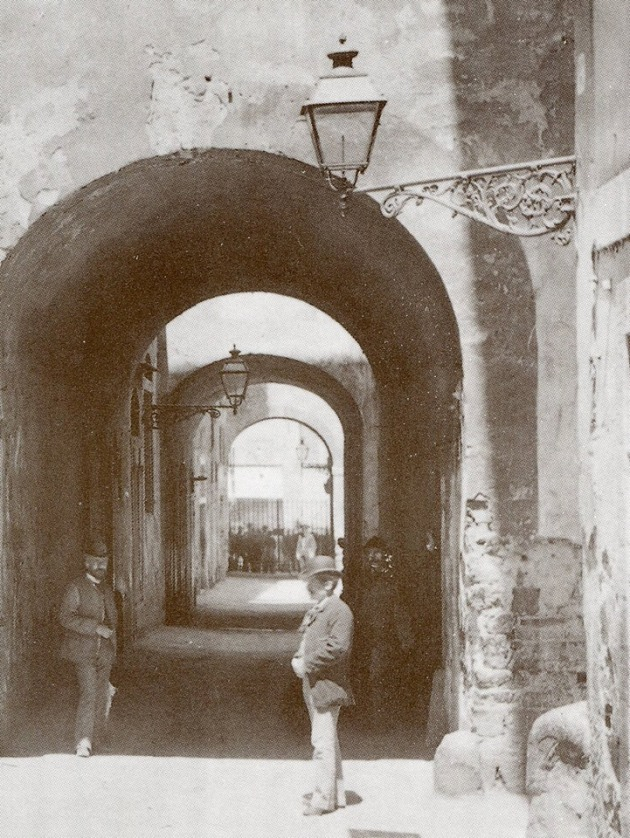 L'ingresso del Ghetto di Firenze