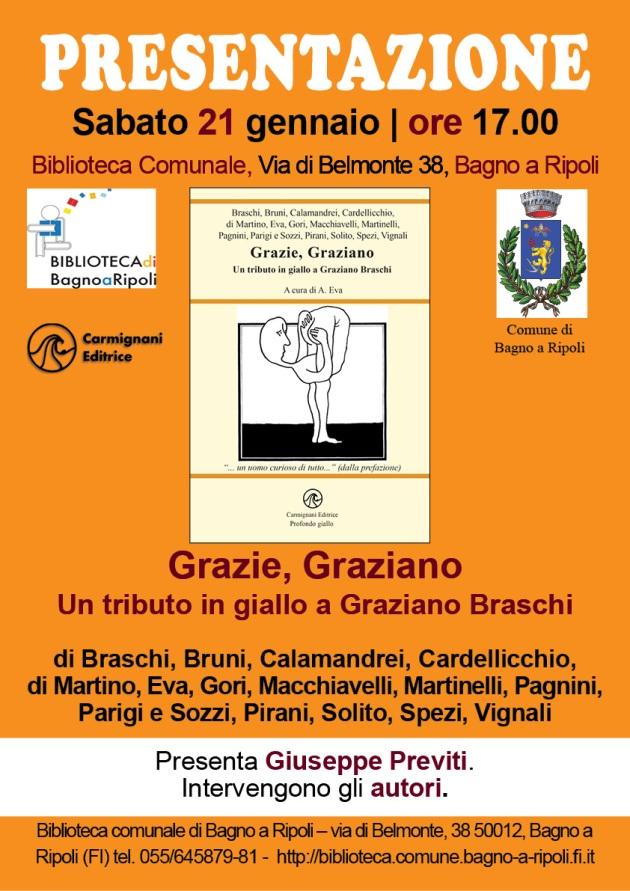 Graziano Braschi e Sergio Calamandrei alla presentazione de L'unico peccato, alla IBS nel 2006